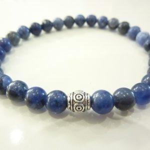 Bracelet Sodalite - Perles rondes 6 mm