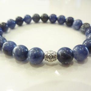 Bracelet Sodalite - Perles rondes 8 mm