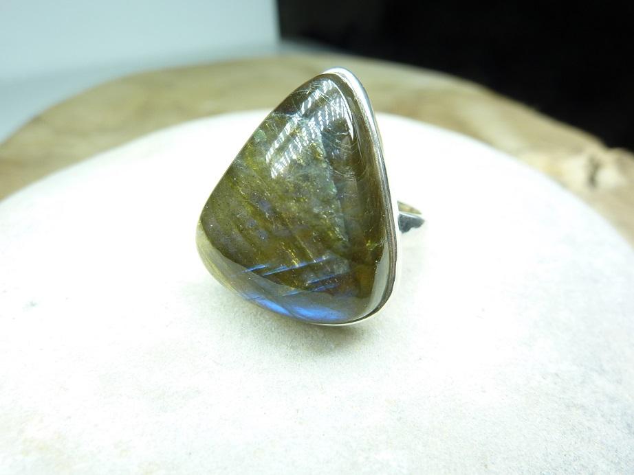 Bague Labradorite - Argent 925 ref 3280