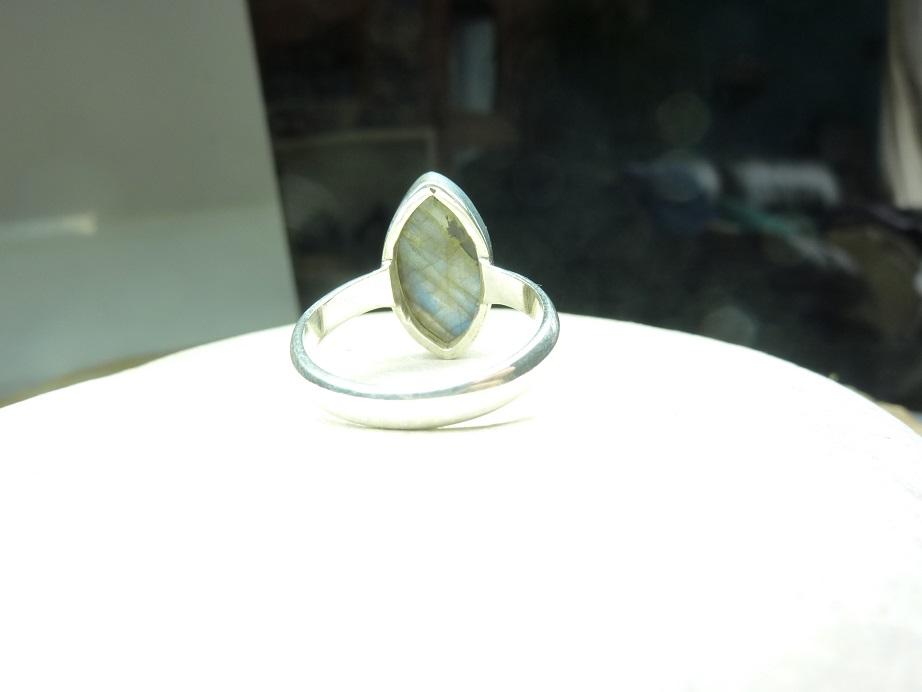 Bague Labradorite - Argent 925 taille 58 ref 0070