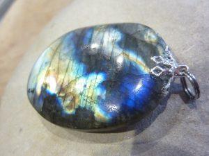 Pendentif Labradorite 21,5 gr ref 0213