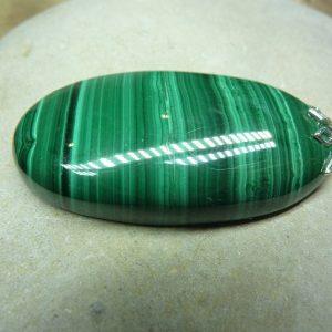 Pendentif Malachite 17,7 gr ref 0301