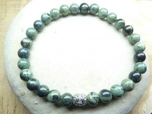 Bracelet Jaspe Kambamba - Perles rondes 6 mm