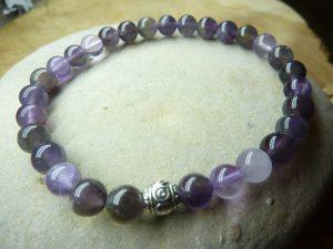 Bracelet Cacoxénite super seven - Perles 6 mm