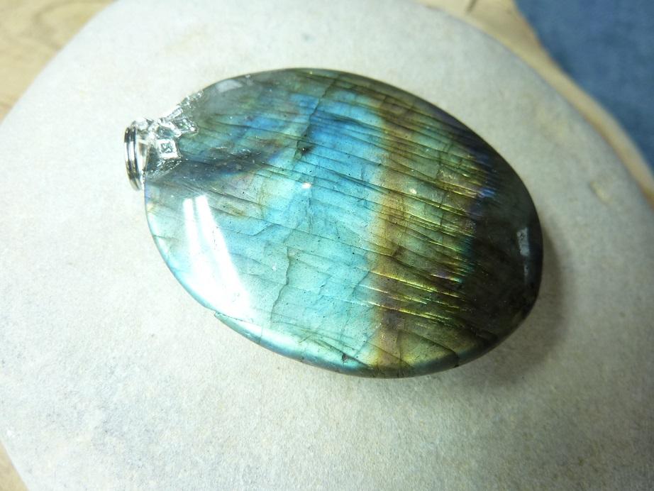 Pendentif Labradorite 24,9 gr ref 1717