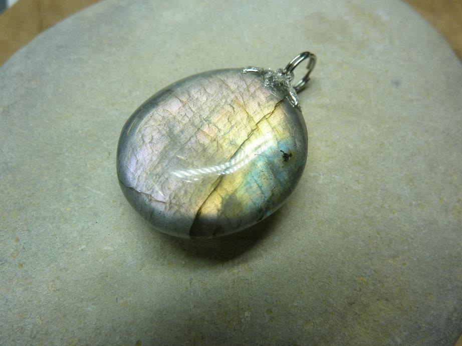 Pendentif Labradorite 10 gr Ref 1616