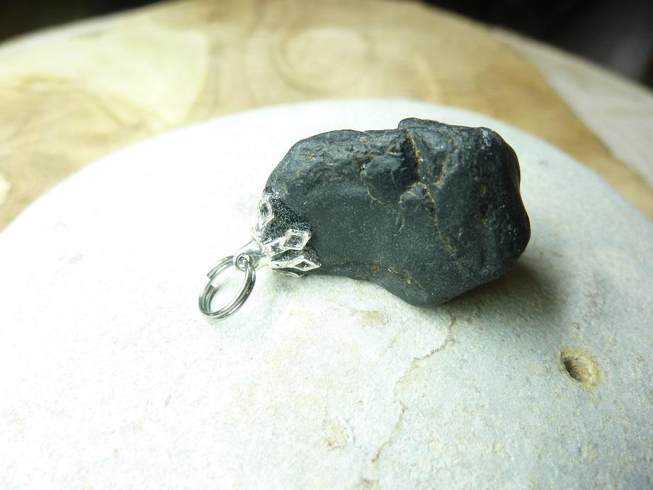 Pendentif Spinelle noir Brut 16,8 gr ref 2119
